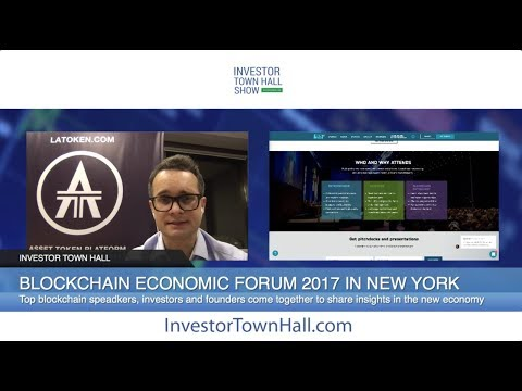 LA Token ICO - Liquid Asset Token ($LAT) Hosts Blockchain Economic Forum 2017