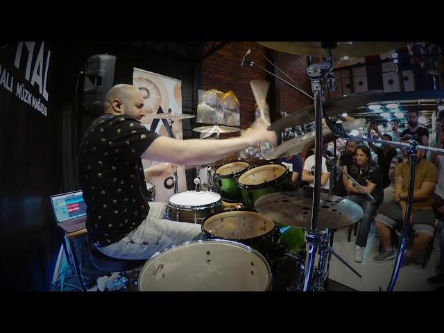 Doğaç Titiz - Electric Break By drumtraxapp - Zuhal Müzik & İstanbul Agop Cymbals Workshop