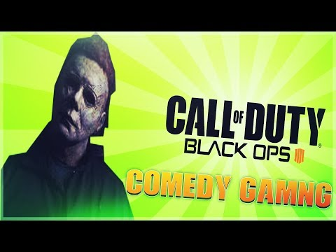 Black Ops 4 - Michael Myers - Last Second Win - Comedy Gaming