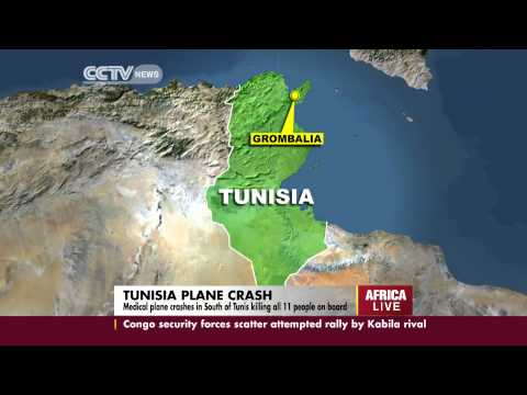 Libyan Army Medical Plane Crashes in Tunisia