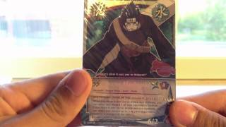 Opening Naruto CCG/TCG: The Chosen Tidal Wave Deck