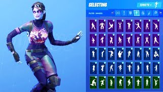 DARK BOMBER SKIN SHOWCASE MIT ALLEN FORTNITE DANCES & EMOTES