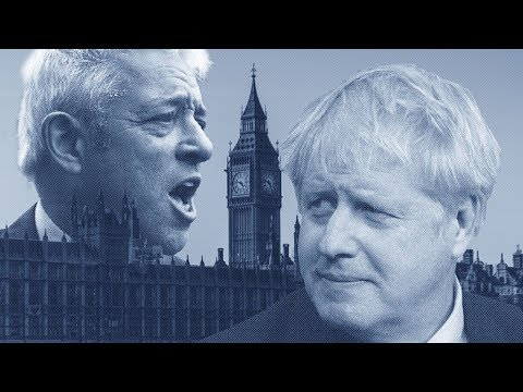 Could stopping Boris Johnson's Brexit deal be John Bercow's swan song?