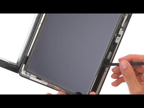LCD Repair - iPad 2 GSM How to Tutorial