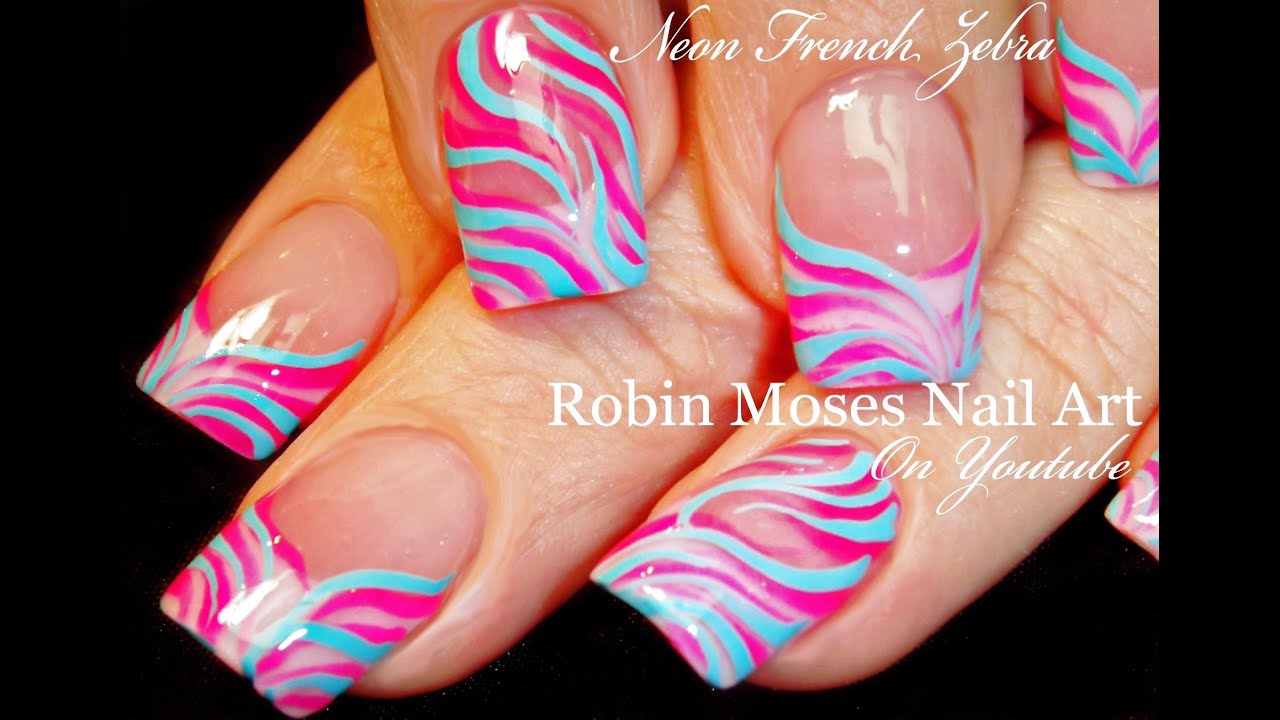 Nail Art Easy Spring Nails Design For Beginners Easter Zebra