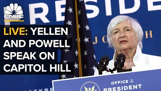 WATCH LIVE: Treasury Sec. Yellen and Fed Chair Powell testify before Congress — 3/24/21