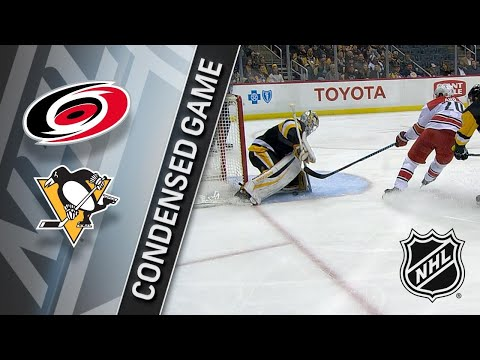 01/04/18 Condensed Game: Hurricanes @ Penguins