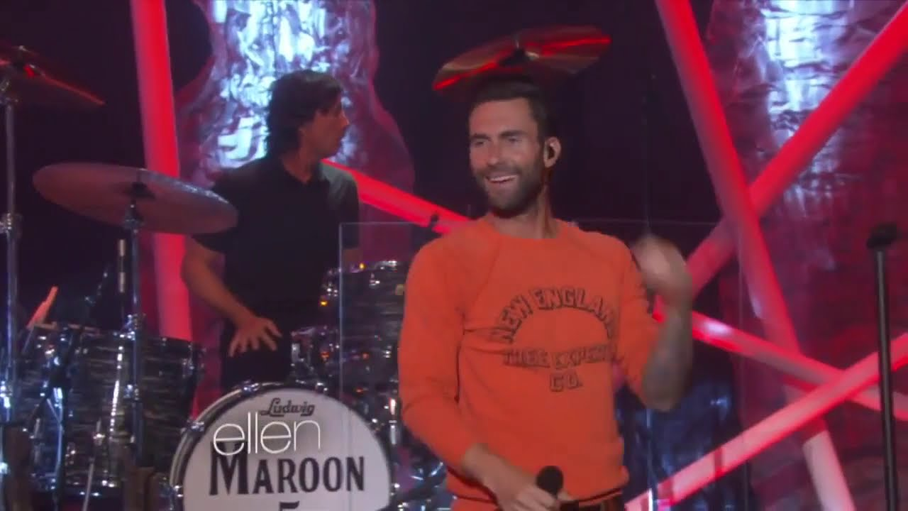 Maroon 5 - Maps (Live On The Ellen DeGeneres Show/2014)