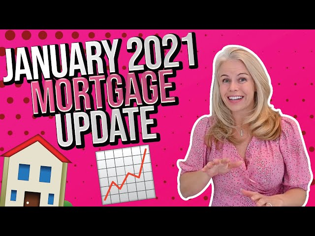 January 2021 Mortgage and 2021 Housing Market Update - Mortgage Rates In 2021 and More Real Estate 👍