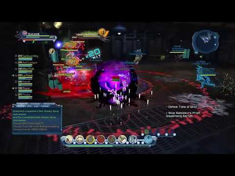 DCUO - Celestial DPS - Gotham City Zoo (gameplay)
