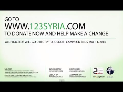 Go to 123Syria.com - Support Education for Syrian Refugee Children