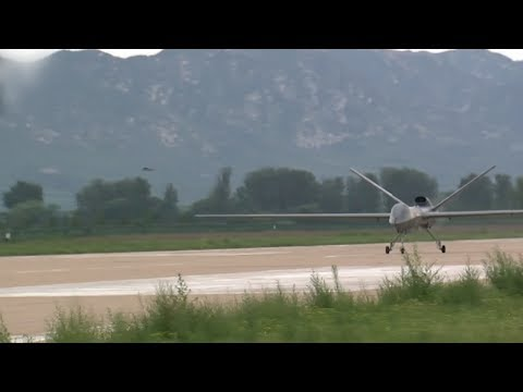 China's new drone completes trial flight