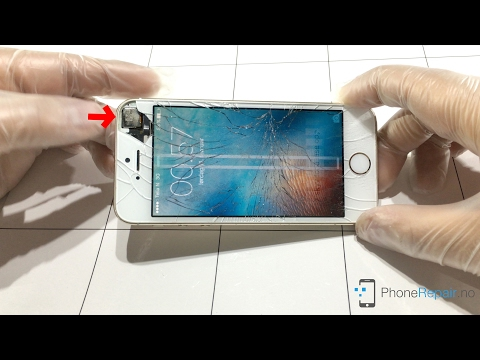 Hvordan bytte skjerm på iPhone 5s - Phonerepair.no
