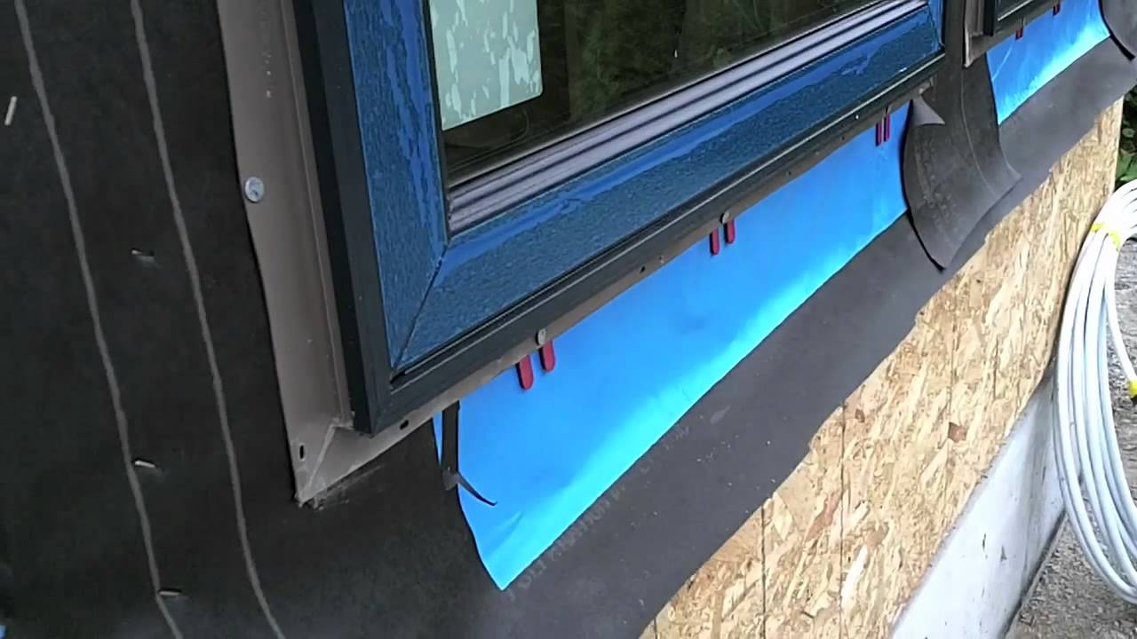 how we prep waterproof window openings youtube