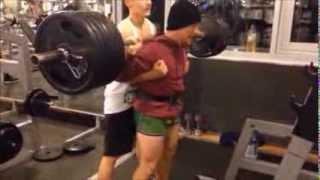 16 years old bodybuilder - 200 KG DEEP SQUAT