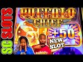 Buffalo Deluxe Saves Our Butts! Casino Slot Machine Big ...