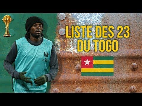 Liste des 23 du Togo pour le choc contre l'Algérie