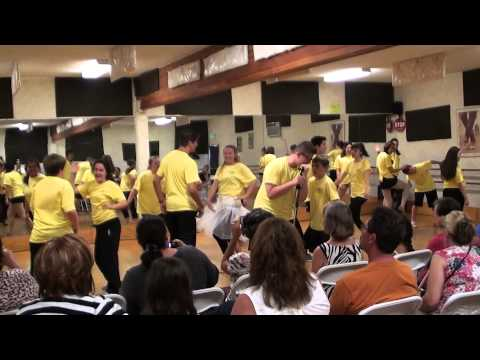 "Mario Arias singing "" wedding day "" at OC Song and dance summer camp 2014"