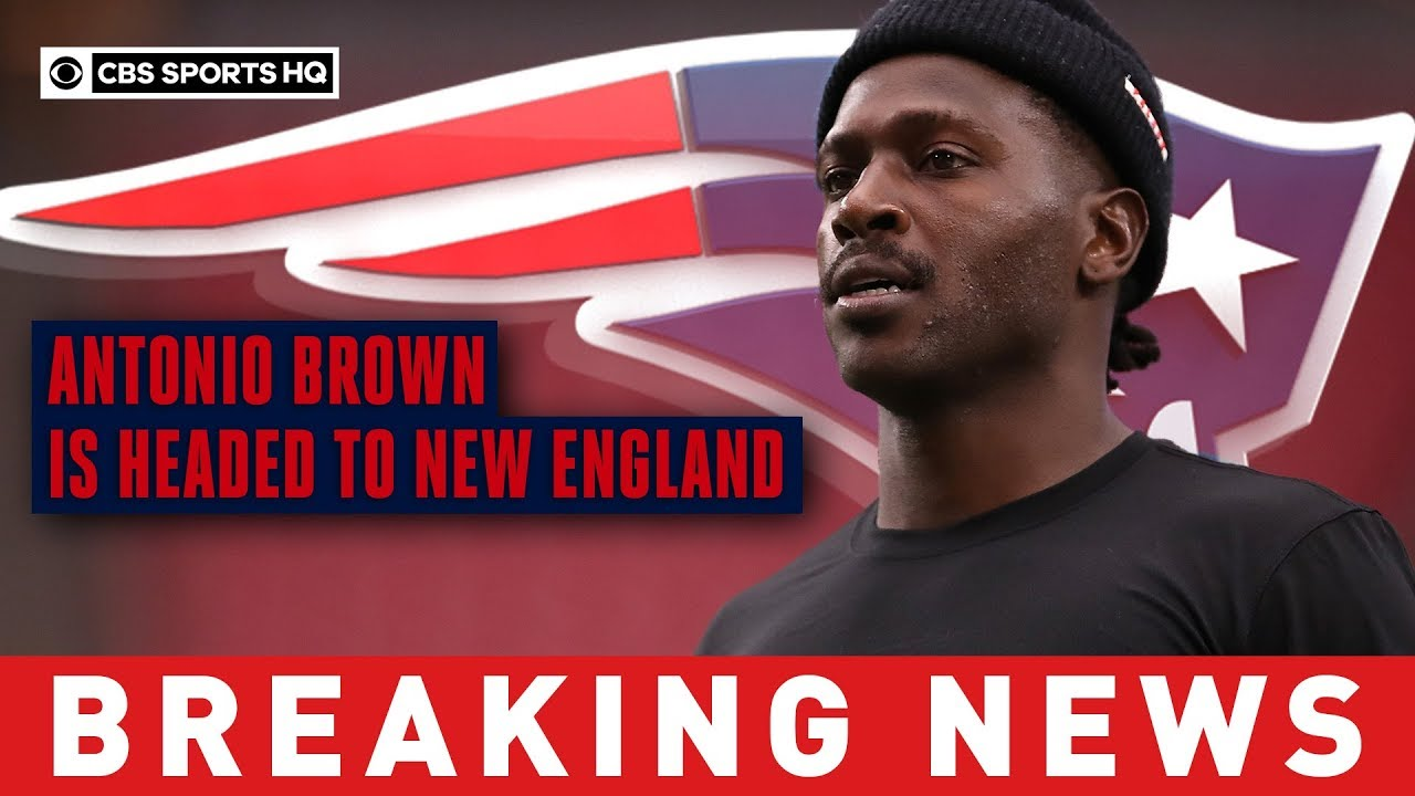 Antonio Brown signs with Patriots hours after being released by the Raiders