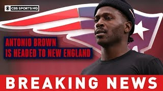 Antonio Brown to sign with Patriots hours after Raiders grant his release | CBS Sports HQ Video