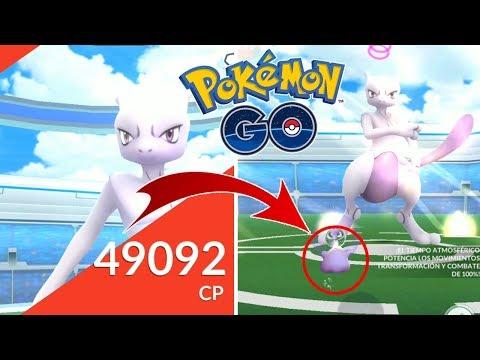 DITTO 100% LV40 VS MEWTWO! ¿AL FIN UN BUEN MEWTWO? [Pokémon GO-davidpetit]