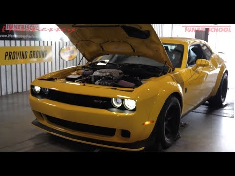 2018 Dodge Demon Chassis Dyno Testing