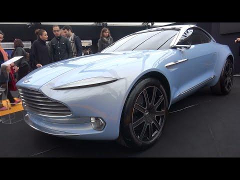 aston martin dbx concept 2016 concept car show paris youtube. Black Bedroom Furniture Sets. Home Design Ideas