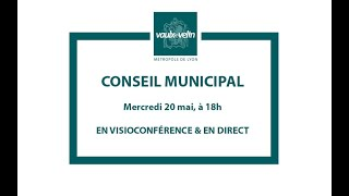 Conseil municipal<br/>20 mai 2020