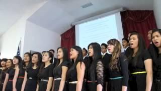 Indo Choir at Everett church  6/15/13