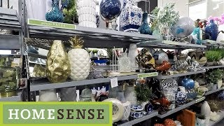 Home Sense Design Accents Section - Home Decor Shop With Me Shopping Store Walk Through 4k