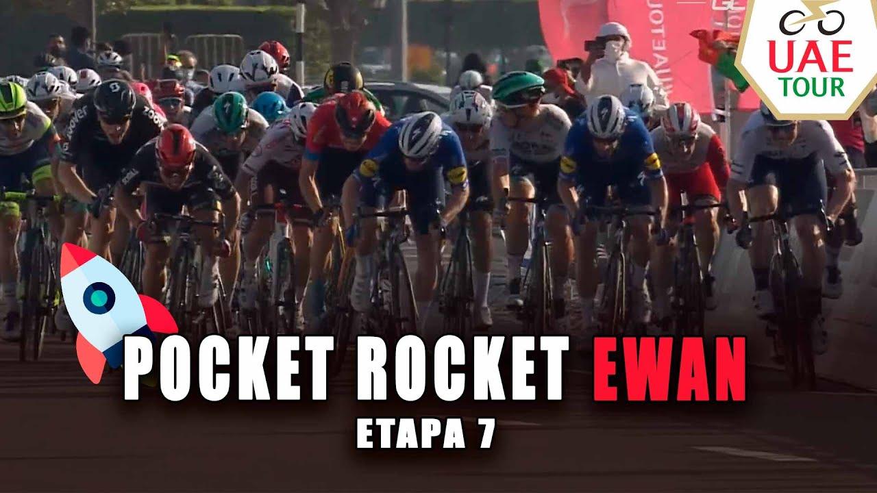 Resumen Etapa 7 - Tour UAE 2021 | Pocket Rocket Ewan