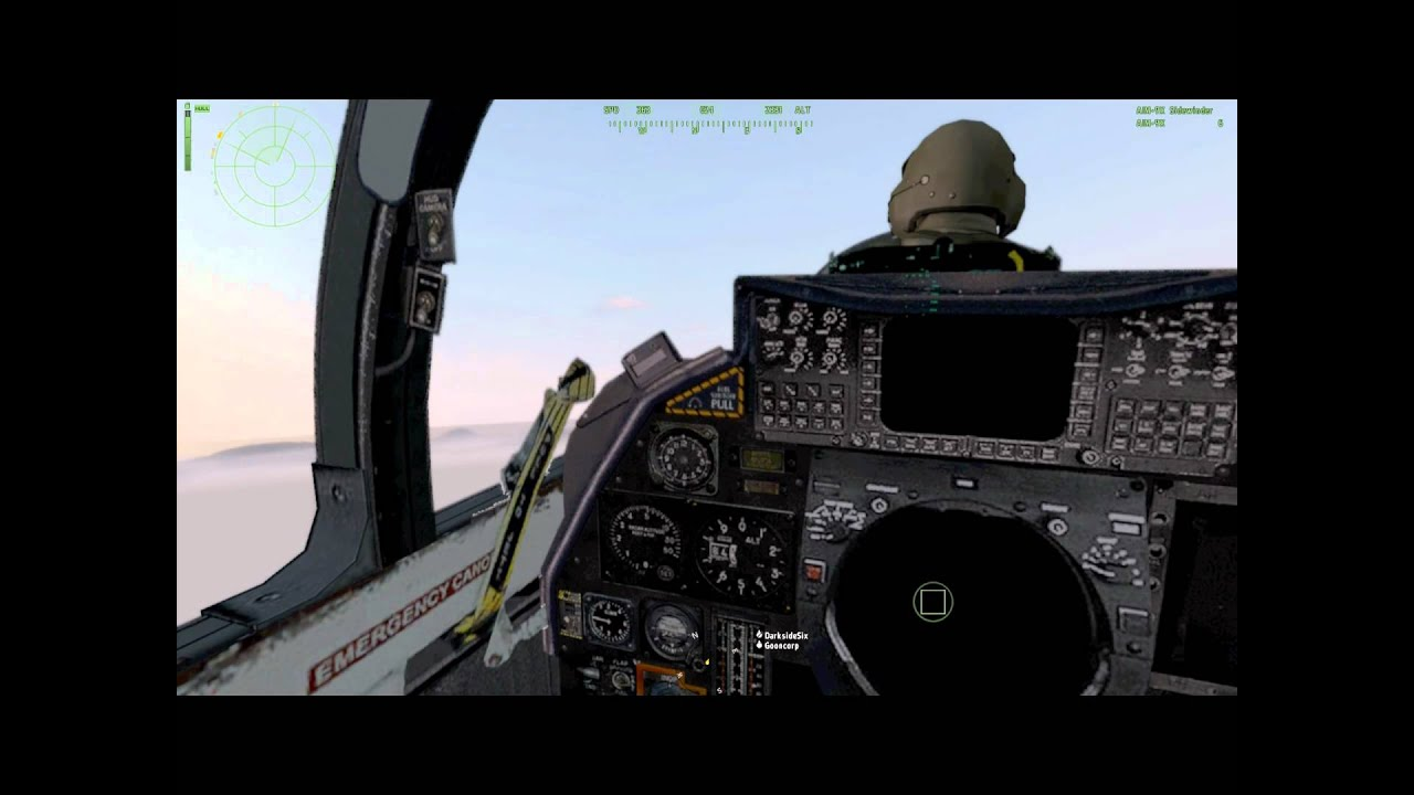 F 14 COCKPIT FOOTAGE - Gunner Seat - Military Footage HD ...