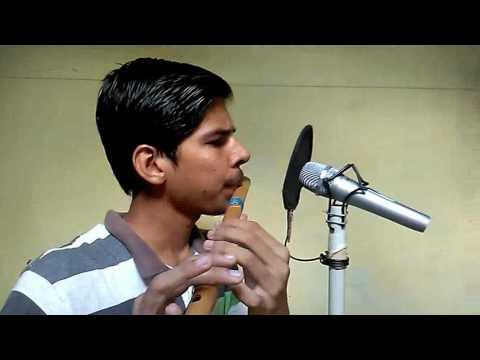 Abhi Mujhme Kahin (flute instrumental) | Agnipath | by Aditya Nath Tiwari (with karaoke)