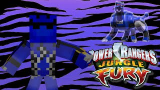 Power Rangers in Minecraft Morph