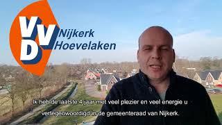 Gemeenteraadslid VVD Nijkerk Hoevelaken