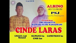 Live Streaming CINDE LARAS season 2//UNGGUL LAS sound // ALBINO VISHOOT