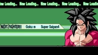 DBZ Shin Budokai Another Road - Goku SSJ4