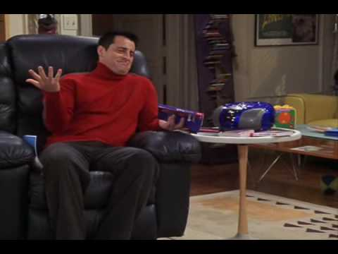 FRIENDS 10x13 The One Where Joey Speaks French