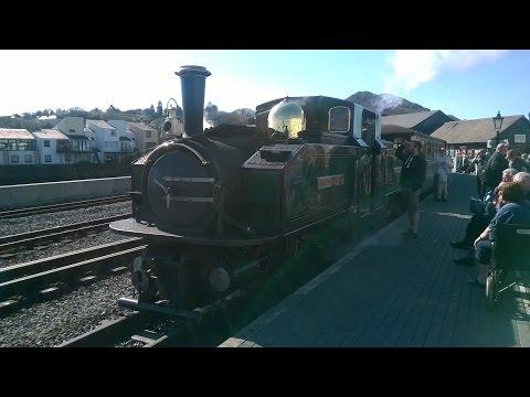 Ffestiniog & Welsh Highland Railways at Easter