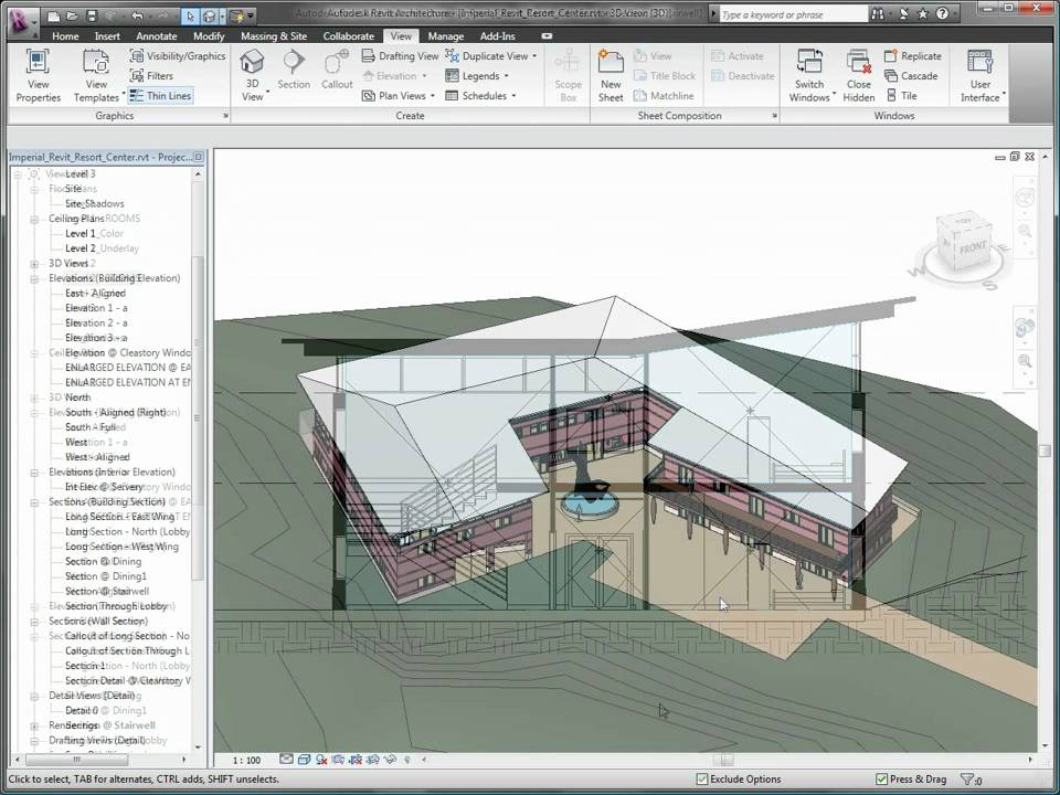 Autodesk Revit Architecture 2010 Sustainable Design - YouTube