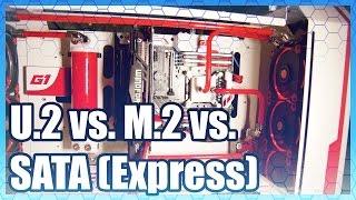 Repeat youtube video U.2 vs. M.2 vs. SATA Express Comparison