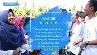 Kabar Sleman | Jambore Three Ends Forum Anak Sleman