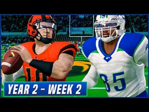 NCAA Football 14 Dynasty Year 2 - Week 2 @ Oregon State | Ep.22
