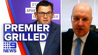 Coronavirus: Premier Daniel Andrews under intense questioning | 9 News Australia