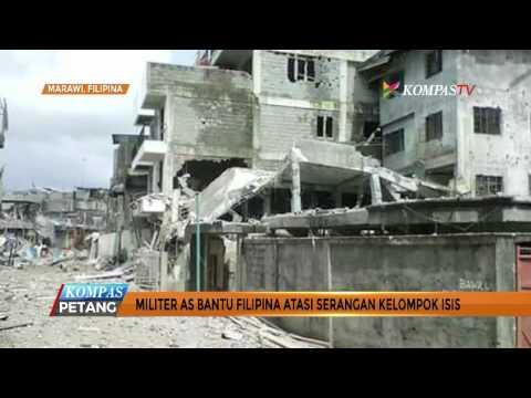 Militer AS Bantu Filipina Atasi Serangan ISIS