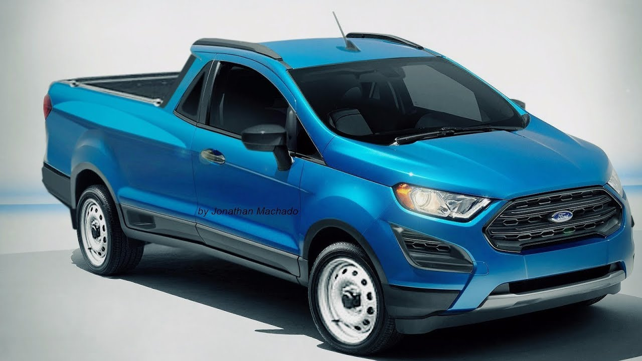 photoshop nova ford courier  ecosport pickup fordcourier fordecosport youtube