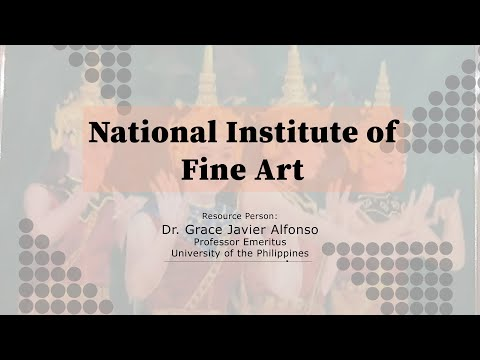 NATIONAL INSTITUTE OF FINE ART