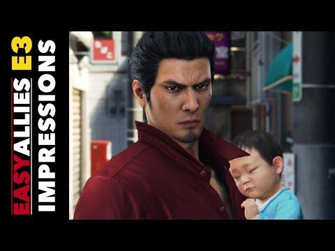 Yakuza 6 and Yakuza Kiwami Impressions - Easy Allies E3 2017