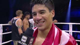 GLORY 67: Asa Ten Pow Post-Fight Interview