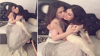 Hot Sanjeeda Sheikh KISS Mouni Roy!